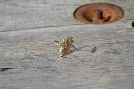 Oak Leaf Ring Bronze