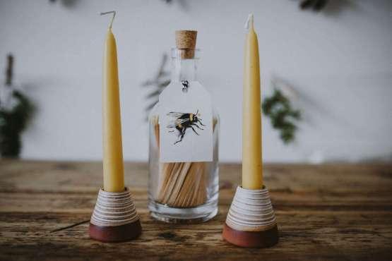 Wendy Calder candle holders