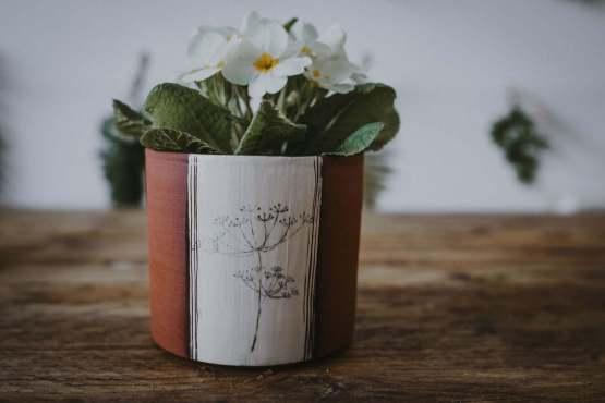 Wendy Calder plant pot