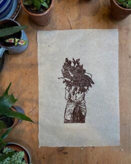 flower harvest print 1