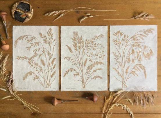 grasses gold trio