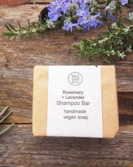rosemary & lavender shampoo bar