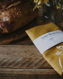 yellow hedgerow bread bag
