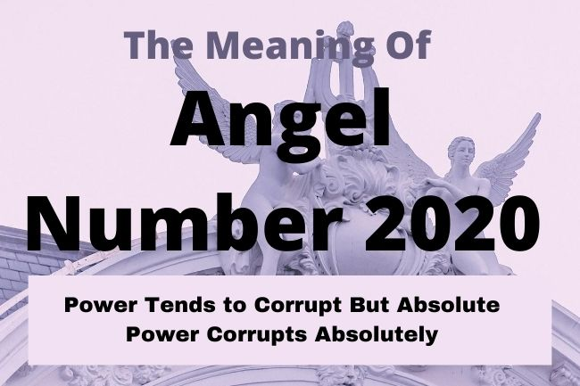 angel number 2020