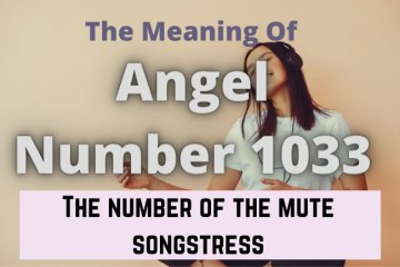 angel number 1033 meaning