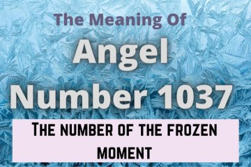 angel number 1037 meaning