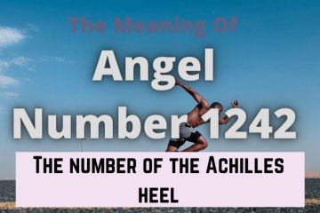 angel number 1242 meaning