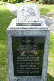 Memorial of Bishop Pompallier Akaroa