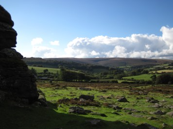 A view from Hound Tor.