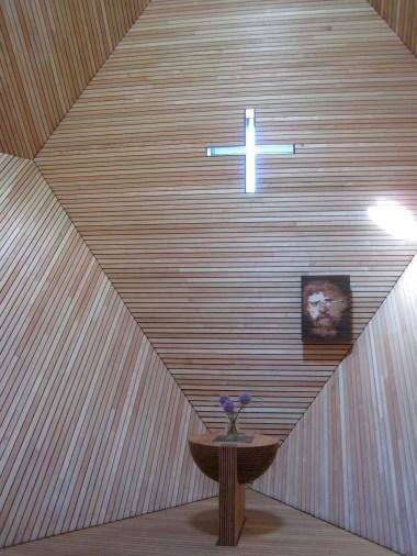 The alter in the Granatkapelle.