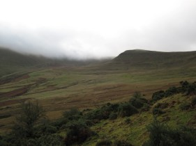On Sunday my circular walk over some of the classic peaks in the Brecon Beacons started by walking through Cwm Llwch.