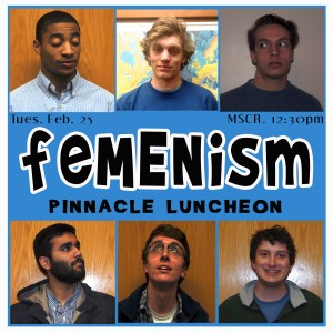 FeMENism discussion at teh women's center