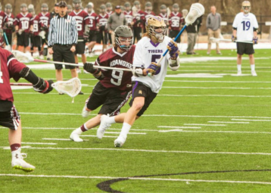 Sewanee boys play lacrosse