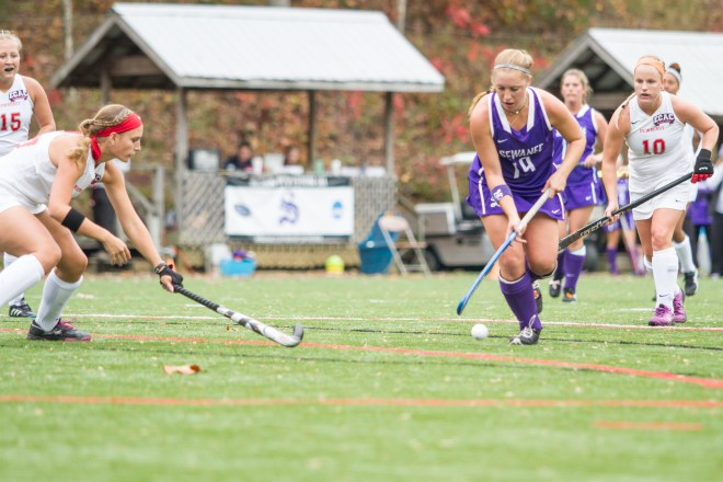Girls' field hockey game