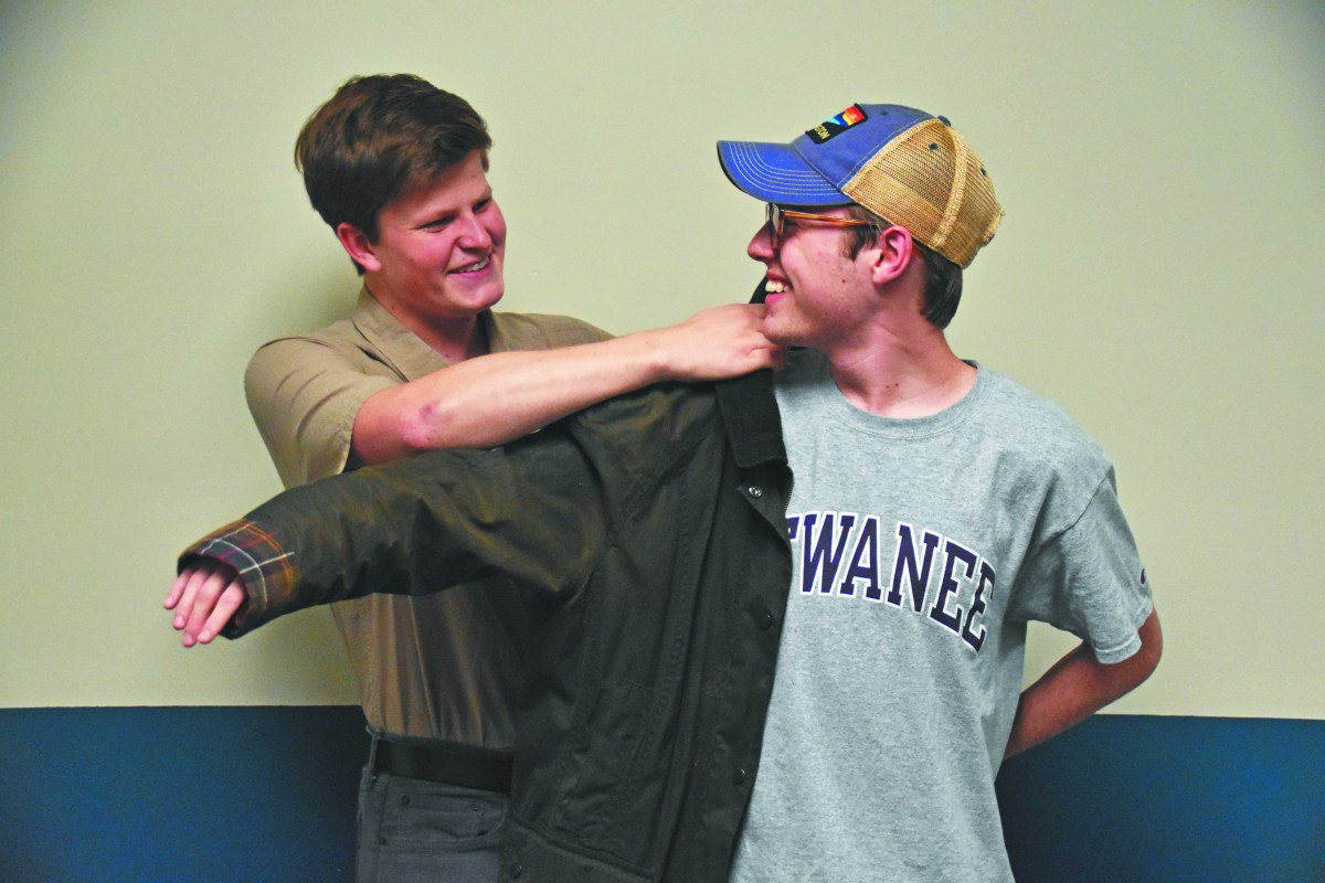 University implements Barbour jacket drive for needy Sewanee boys