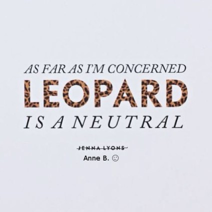 Leopard is a neutral2