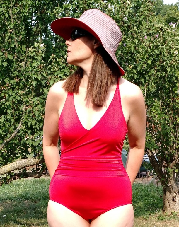 Love my Mimi G swimsuit, Simplicity 1116