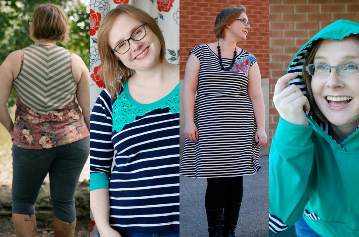 embellished stripes