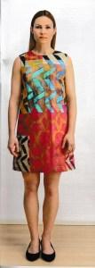 Image of pattern I chose for my Jeltje dress