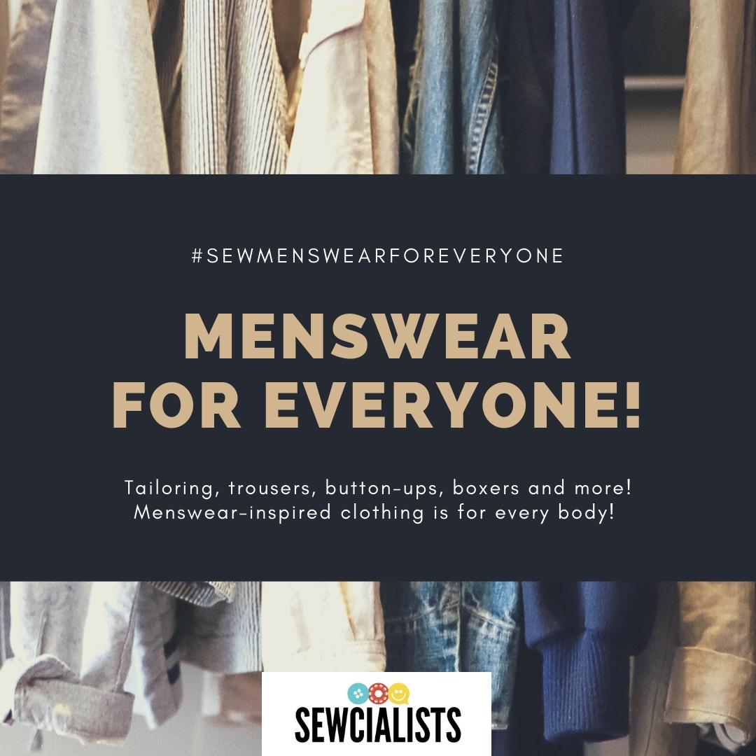 The Menswear for Everyone series logo.