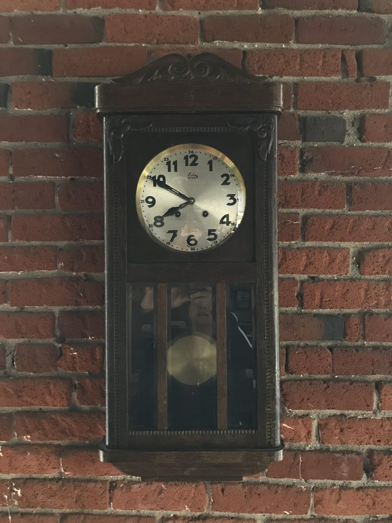 Author's family clock