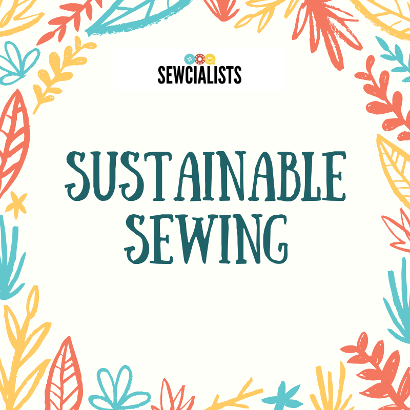 Sustainable Sewing banner graphic