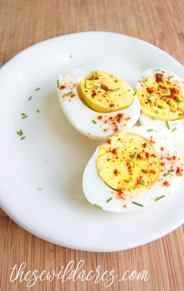 Hard Boiled Eggs in the Instant Pot