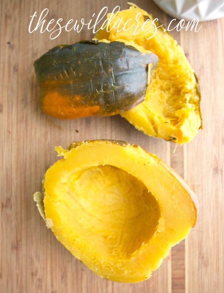Prepare Acorn Squash in the Instant Pot