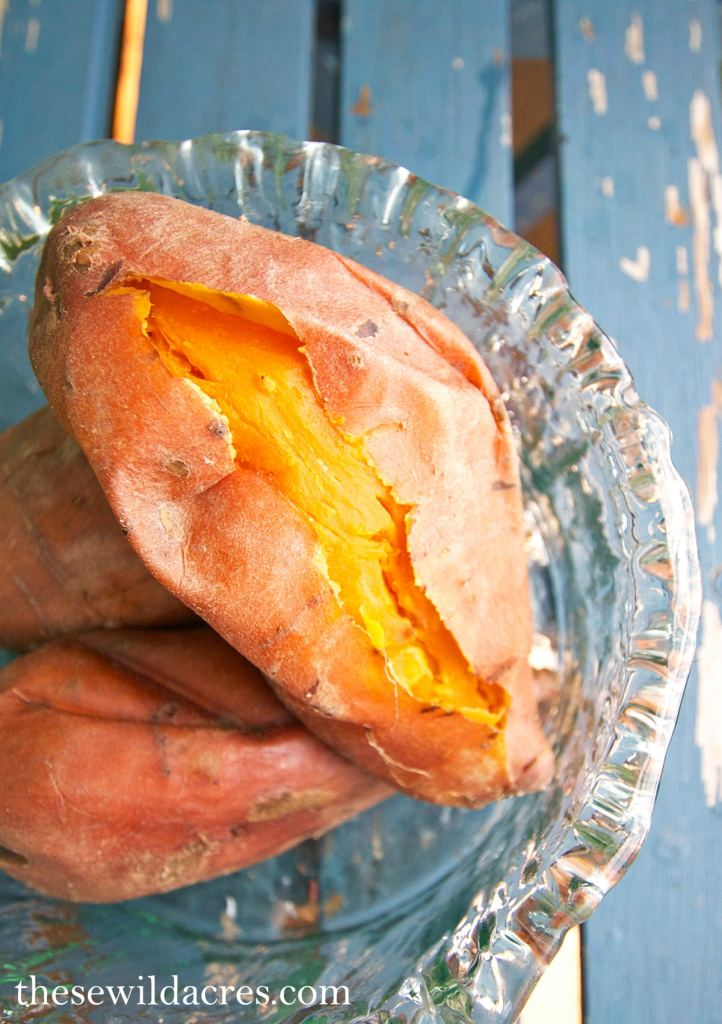 sweet potato in the instant pot