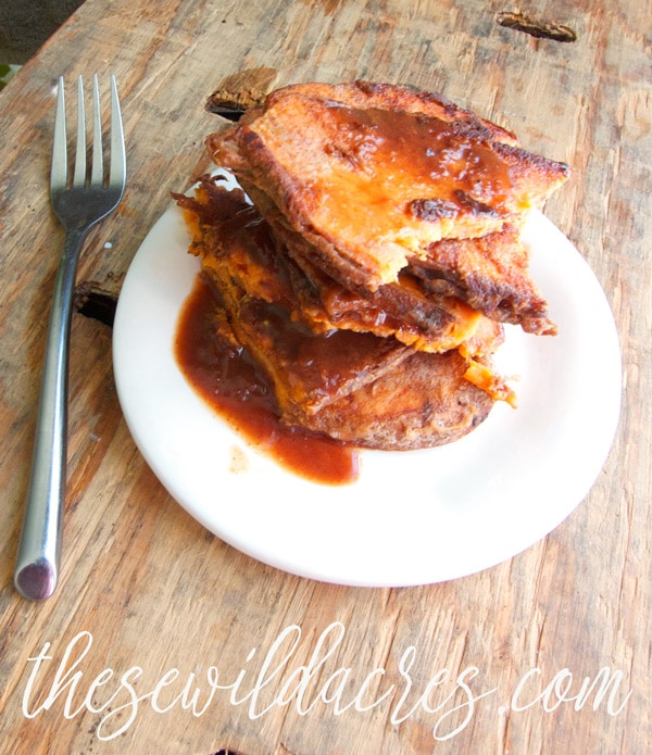 Paleo Sweet Potato French Toast in the Instant Pot