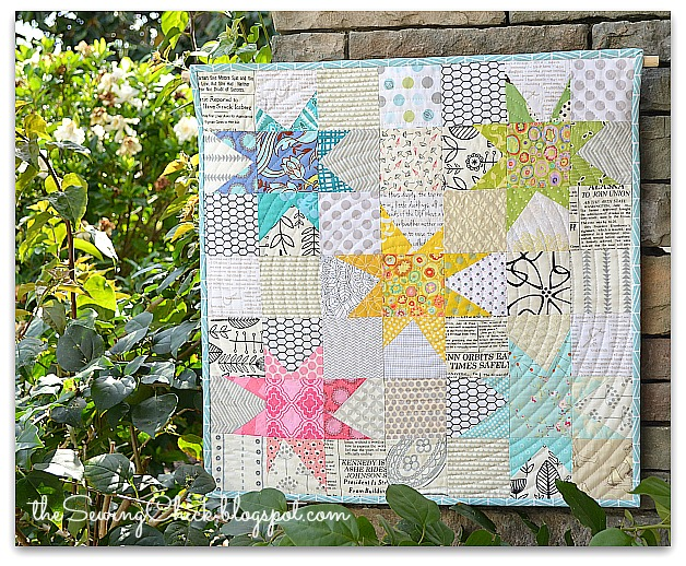 The Sewing Chick Friday Finish A Mini Quilt