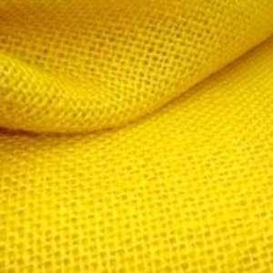 Punchneedle stof 40×40 geel