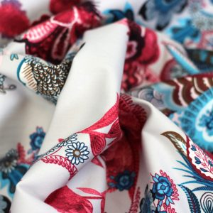 Paisley- medium katoen viscose
