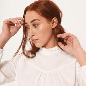 Victoria blouse naaipatroon – Fibremood
