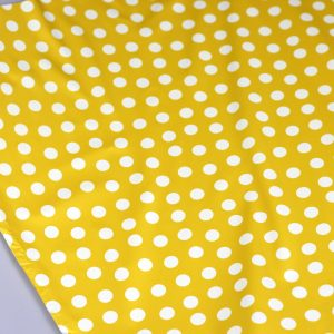Yellow dots- waterafstotende stof
