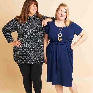 + size: Pembroke jurk en tuniek