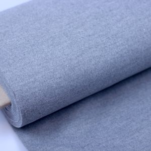 Softcoat grey melange – mantelstof