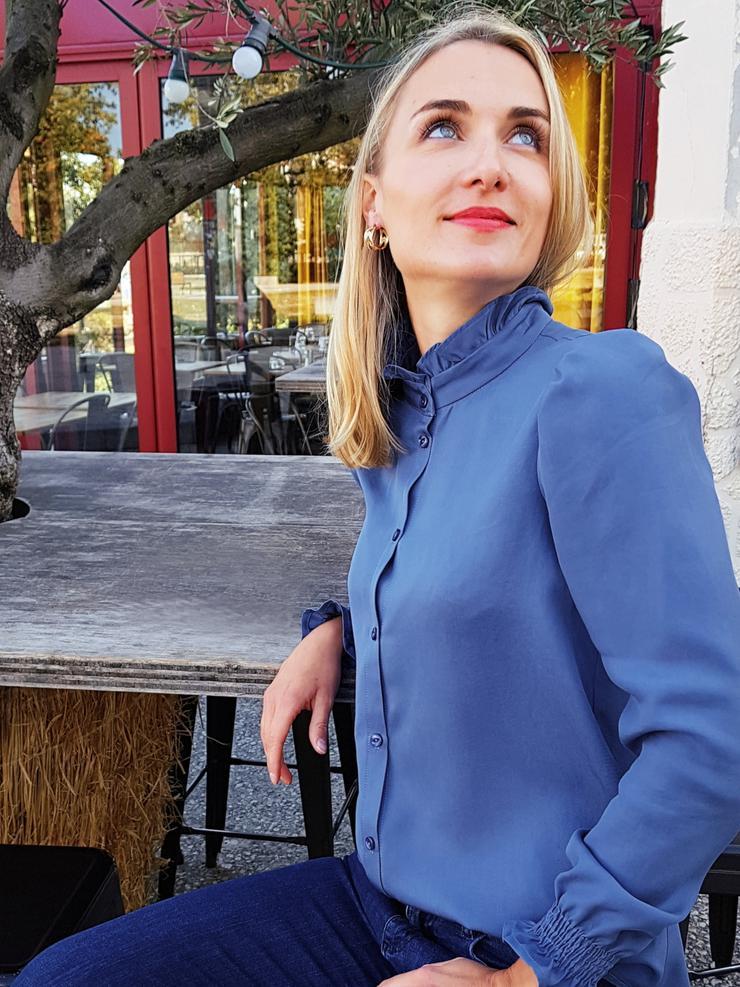 Hazel blouse **- zat 22 februari