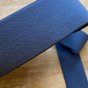 Blauw- Zachte elastiek 4cm