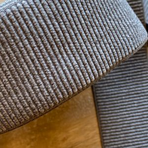 Grey rib – Zachte elastiek 6cm