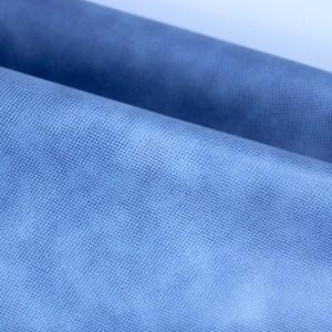 licht blauw kunstleder- tassenstof