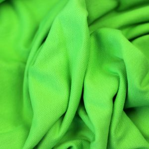 Flash green – tricot piqué