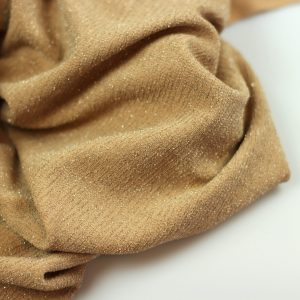 beige-metallic jersey