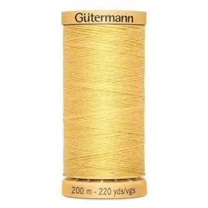 Geel- Rijggaren katoen Gutermann