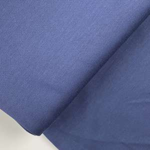 Deep blue -brushed viscose tricot