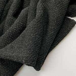 Verona black- sweater knit