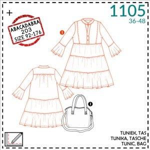 Boho jurk en tas- It's a fits #1105