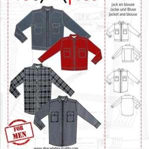Mannen jas en hemd S-XXL – It's a fits #1113