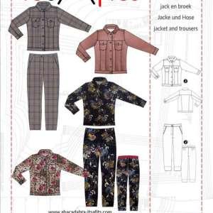 Spijkerjasje en broek patroon- It's a fits #1120