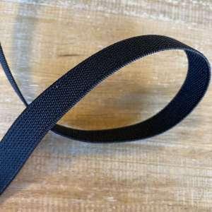 Elastiek 1,5cm- zwart
